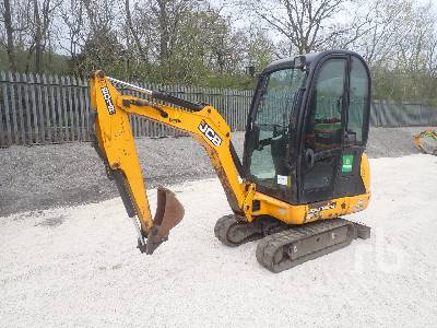 2015 JCB 8018CTS ***inoperable*** Mini Excavator (1 - 4.9 Tons)