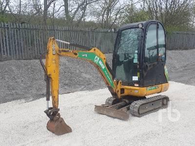 2016 JCB 8018 CTS Mini Excavator (1 - 4.9 Tons)