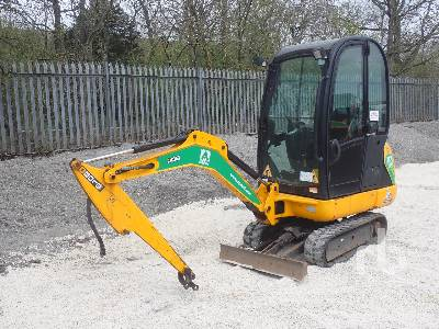 2017 JCB 8018 CTS ***inoperable*** Mini Excavator (1 - 4.9 Tons)