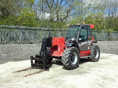 2016 MANITOU MLT845 4x4x4 Telescopic Forklift