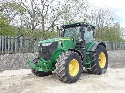 2013 JOHN DEERE 7280R MFWD Tractor