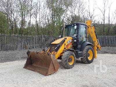 2017 JCB 3CX 14HFWM Loader Backhoe