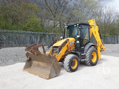 2018 JCB 3CX 14HFWA 4x4 Loader Backhoe