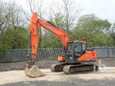 2016 DOOSAN DX140LC-5 Hydraulic Excavator