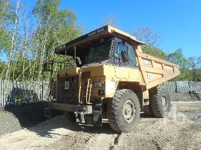 2003 CAT 771D Rock Truck