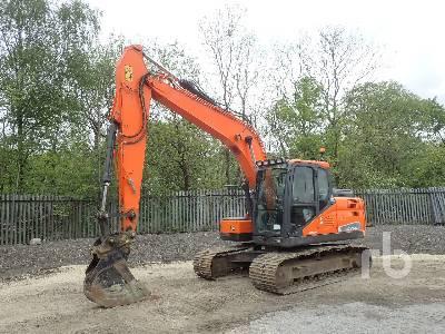 2015 DOOSAN DX140LC Hydraulic Excavator