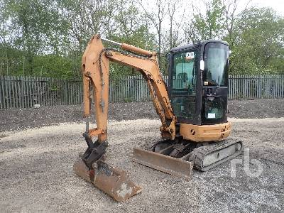 2011 CASE CX26B S2 Mini Excavator (1 - 4.9 Tons)