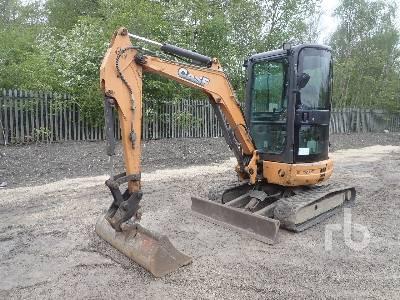 2014 CASE CX30B S2 Mini Excavator (1 - 4.9 Tons)