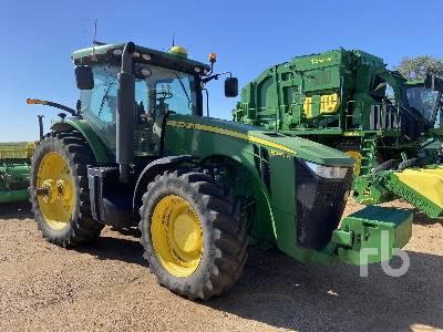 2017 JOHN DEERE 8345R MFWD Tractor