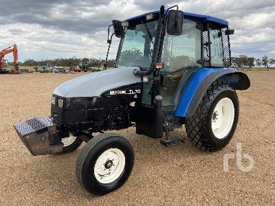 NEW HOLLAND TL70 2WD Tractor