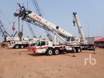 2011 LINK-BELT HTC86100 100 Ton 8x4x8 Hydraulic Truck Crane