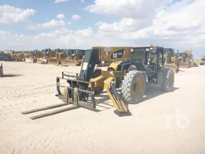 2014 CATERPILLAR TL943C 9000 Lb 4x4x4 Telescopic Forklift
