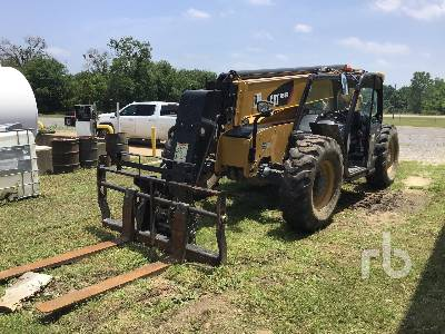 2019 CATERPILLAR TL943D 9000 Lb 4x4x4 Telescopic Forklift