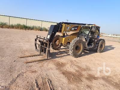 2020 CATERPILLAR TL943D 9000 Lb 4x4x4 Telescopic Forklift