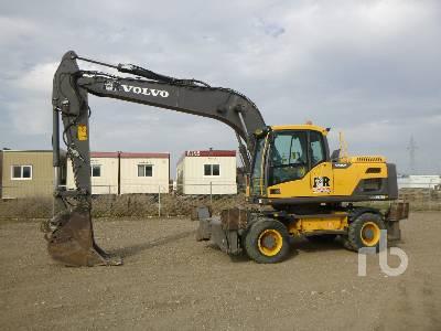 2012 VOLVO EW210D Mobile Excavator