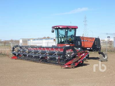 2009 CASE IH WD1203 36 Ft Swather