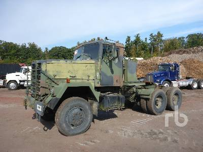 1979 AM GENERAL M916 6x6 Winch Tractor
