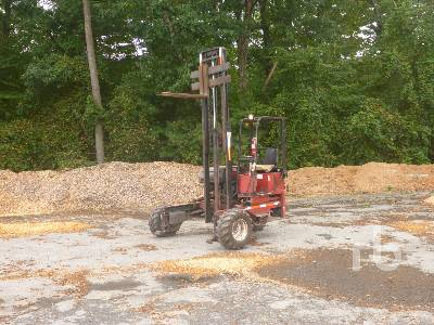 1996 MOFFET M5000 5000 Lb Truck Mounted Forklift