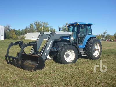1997 NEW HOLLAND 8870 MFWD Tractor