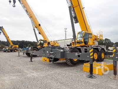 2020 GROVE GRT9165 150 Ton Rough Terrain Crane