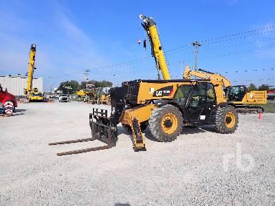 2020 CATERPILLAR TL1255D 12000 Lb 4x4x4 Telescopic Forklift