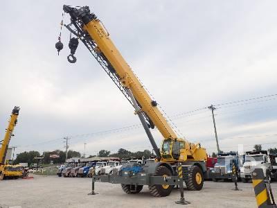 2011 GROVE RT880E 80 Ton 4x4x4 Rough Terrain Crane