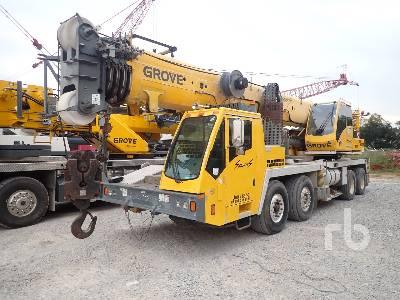 2008 GROVE TMS9000E 110 Ton Hydraulic Truck Crane