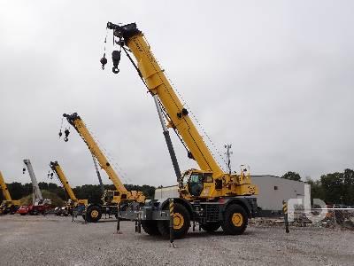 2016 GROVE GRT8100 100 Ton 4x4x4 Rough Terrain Crane