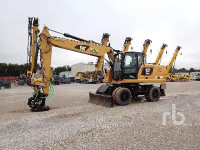 2018 CATERPILLAR M320F 4x4 Mobile Excavator