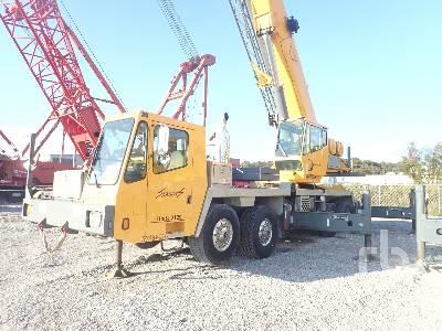2001 GROVE TMS760E 60 Ton 8x4x4 Hydraulic Truck Crane