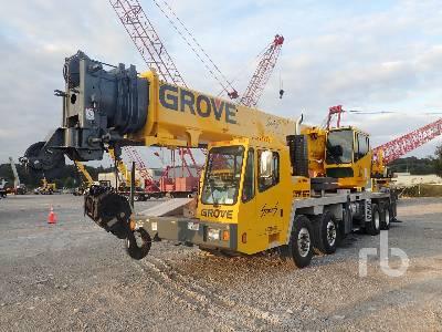 2008 GROVE TMS700E 50 Ton 8x4x4 Hydraulic Truck Crane