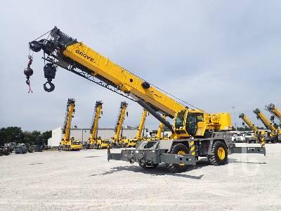 2015 GROVE RT600E 40 Ton 4x4x4 Rough Terrain Crane