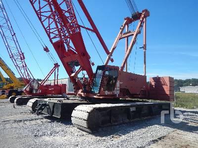 2009 MANITOWOC 2250 300 Ton Self-Erecting Crawler Crane