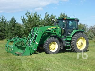2008 JOHN DEERE 7730 MFWD Tractor