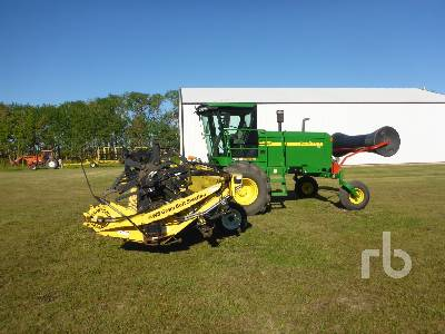 2009 JOHN DEERE 4895 36 Ft Swather