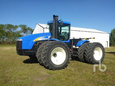 2007 NEW HOLLAND TJ430 4WD Tractor