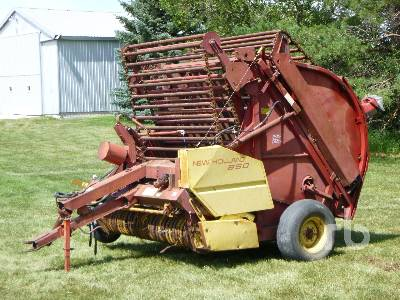 1978 NEW HOLLAND 850 Round Baler