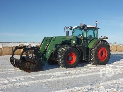 2015 FENDT 720 MFWD Tractor
