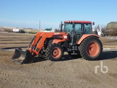 2008 KUBOTA M125X MFWD Tractor