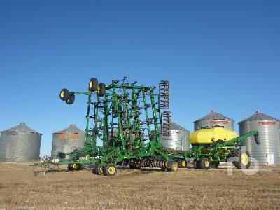 2012 JOHN DEERE 1830X 42 Ft Air Drill