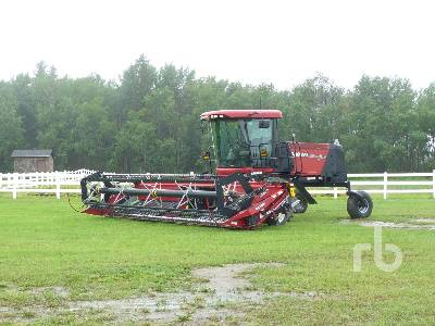 2011 CASE IH WD1203 25 Ft Swather