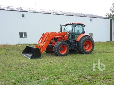 2016 KUBOTA M7-171 Premium KVT MFWD Tractor
