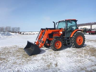 2018 KUBOTA M6-111 MFWD Tractor
