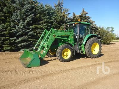 2003 JOHN DEERE 6615 MFWD Tractor
