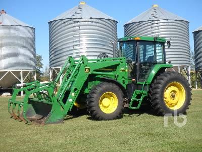 2001 JOHN DEERE 7610 MFWD Tractor