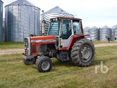 1983 MASSEY FERGUSON 698 2WD Tractor