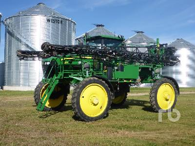 2009 JOHN DEERE 4830 100 Ft High Clearance Sprayer
