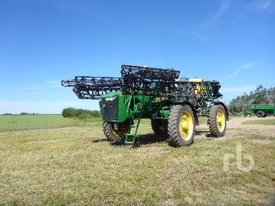 2012 JOHN DEERE 4940 120 Ft High Clearance Sprayer