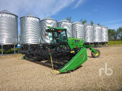 2014 JOHN DEERE W150 30 Ft Swather