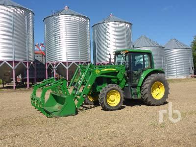 2011 JOHN DEERE 6430 PREMIUM MFWD Tractor